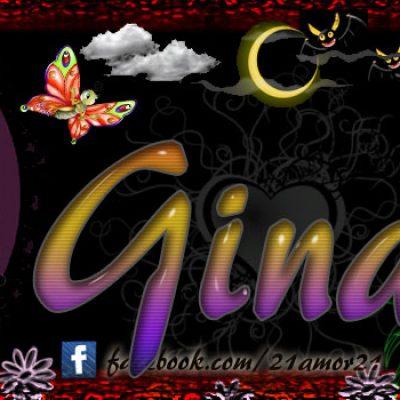 Portadas para tu Facebook con tu nombre, Gina