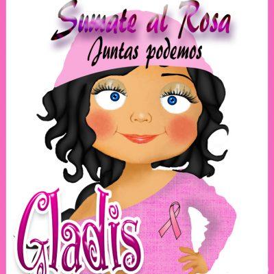 19 de Octubre Día mundial contra el Cancer.Gladis