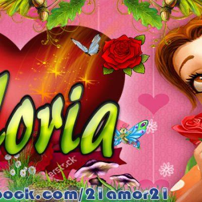 Portadas para Facebook de Emily's con tu nombre,Gloria
