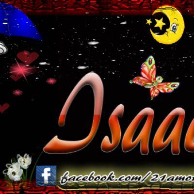 Portadas para tu Facebook con tu nombre,  Isaac