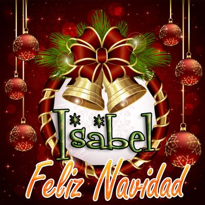 Feliz Navidad !!! Isabel