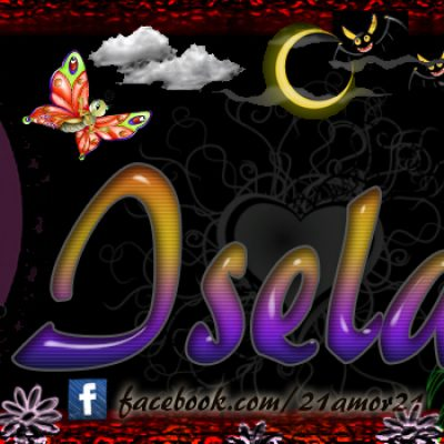 Portadas para tu Facebook con tu nombre, Isela