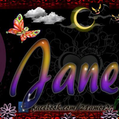 Portadas para tu Facebook con tu nombre, Jane