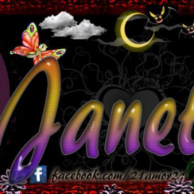 Portadas para tu Facebook con tu nombre,Janeth