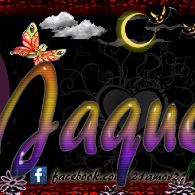 Portadas para tu Facebook con tu nombre, Jaqueline
