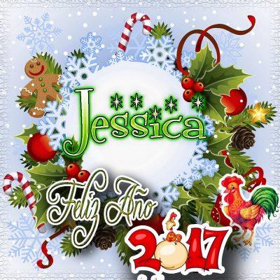 Lindas tarjetas para perfil con tu nombre 2017!!! Jessica
