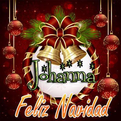 Feliz Navidad !!! Johanna