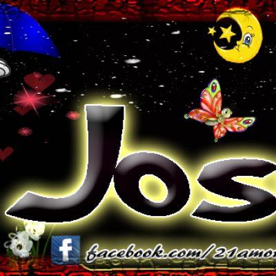 Portadas para tu Facebook con tu nombre, José