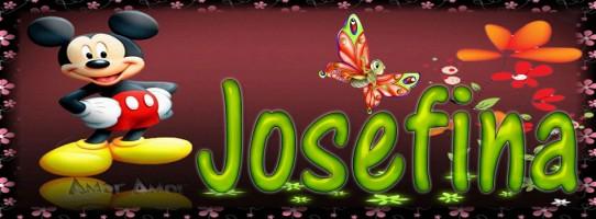 Tu miki mouse con tu Nombre,JOSEFINA
