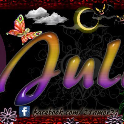 Portadas para tu Facebook con tu nombre, Julia