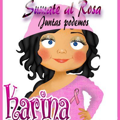 19 de Octubre Día mundial contra el Cancer.Karina