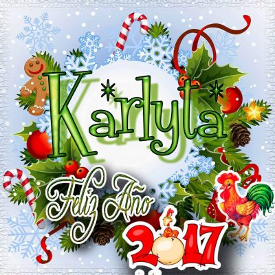 Lindas tarjetas para perfil con tu nombre 2017!!! Karlyta