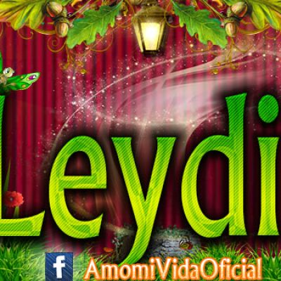 Nuevas Portadas para tu Facebook con tu nombre de Minnie y Mickey,Leydi