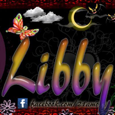 Portadas para tu Facebook con tu nombre, Libby