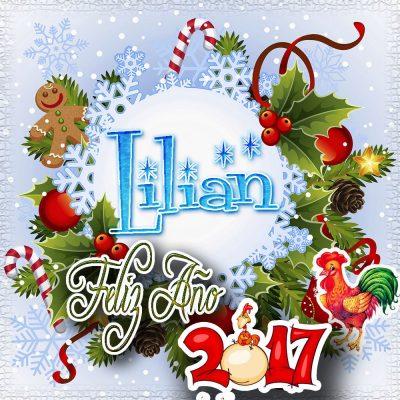 Lindas tarjetas para perfil con tu nombre 2017!!! Lilian