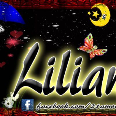 Portadas para tu Facebook con tu nombre, Liliana