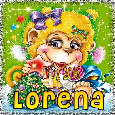 Feliz Año 2016!!!Lorena