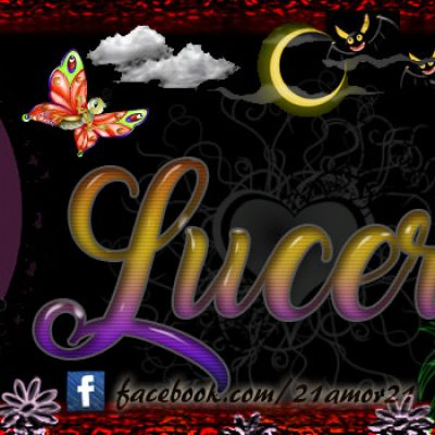 Portadas para tu Facebook con tu nombre, Lucero