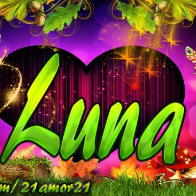 Portadas para Facebook de Emily's con tu nombre,Luna
