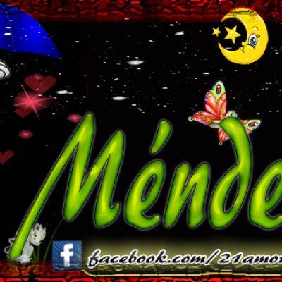 Portadas para tu Facebook con tu nombre, Méndez