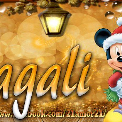 Portadas de Navidad con tu Nombre, de MICKEY, Magali!!!