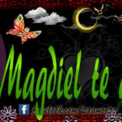 Portadas para tu Facebook con tu nombre, Magdiel te amo