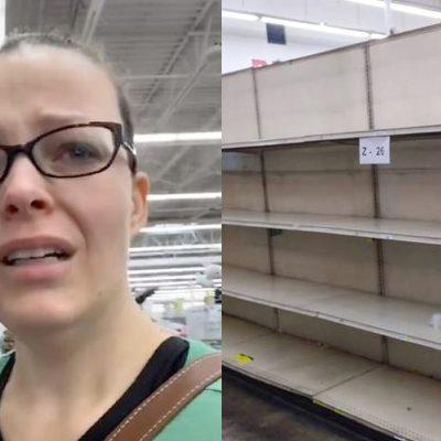 No hay pañales para su hija en tiendas