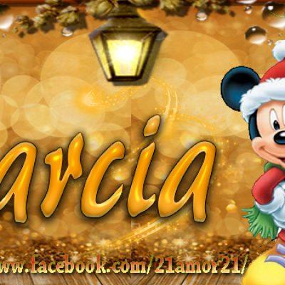 Portadas de Navidad con tu Nombre, de MICKEY, Marcia!!!