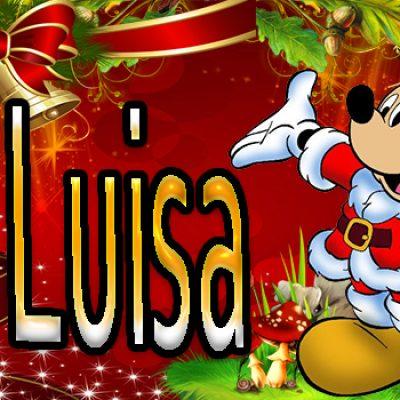 Portadas de Navidad con tu Nombre, de MICKEY,Maria Luisa!!!