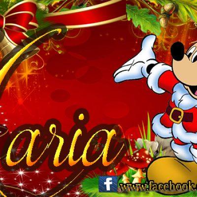 Portadas de Navidad con tu Nombre, de MICKEY,Maria!!!