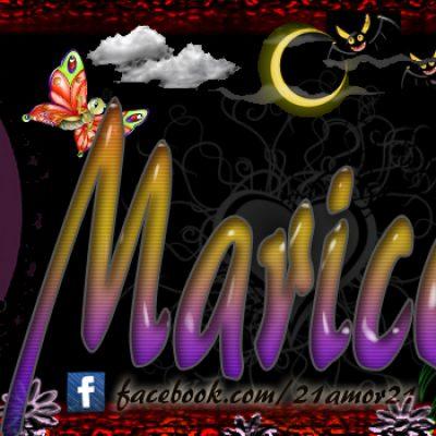 Portadas para tu Facebook con tu nombre, Maricela