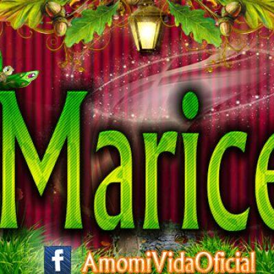 Nuevas Portadas para tu Facebook con tu nombre de Minnie y Mickey,Marisela