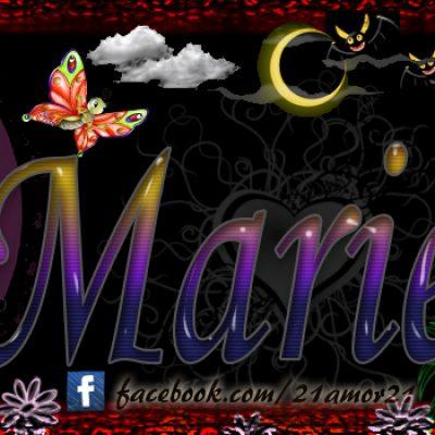 Portadas para tu Facebook con tu nombre, Mariela
