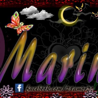 Portadas para tu Facebook con tu nombre,Marina