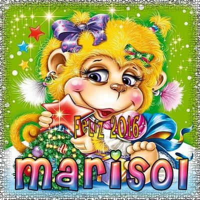 Feliz Año 2016!!!Marisol