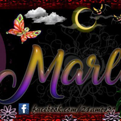 Portadas para tu Facebook con tu nombre, Marlen