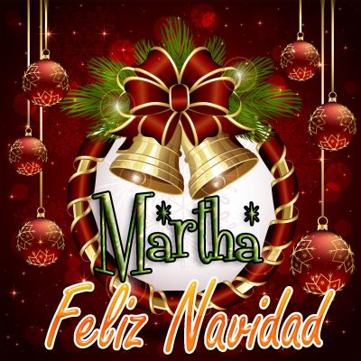 Feliz Navidad !!! Martha