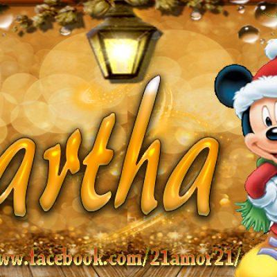 Portadas de Navidad con tu Nombre, de MICKEY, Martha!!!