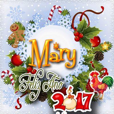 Lindas tarjetas para perfil con tu nombre 2017!!! Mary