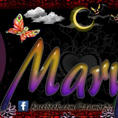 Portadas para tu Facebook con tu nombre, Mary