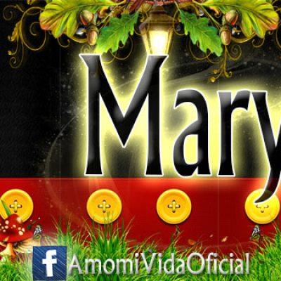 Nuevas Portadas para tu Facebook con tu nombre de Minnie y Mickey,Mary