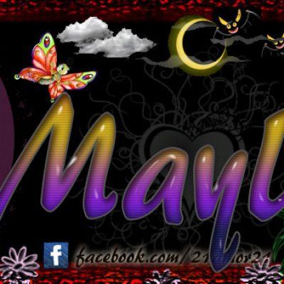 Portadas para tu Facebook con tu nombre, Maylene