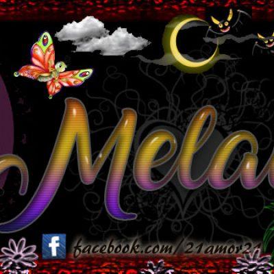 Portadas para tu Facebook con tu nombre, Melanie