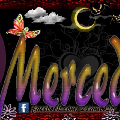 Portadas para tu Facebook con tu nombre,Mercedes