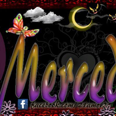 Portadas para tu Facebook con tu nombre, Mercedes