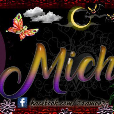 Portadas para tu Facebook con tu nombre, Michel