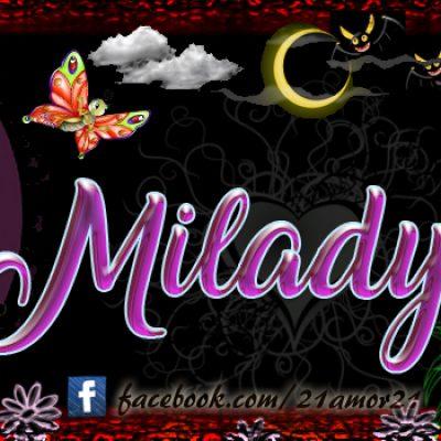 Portadas para tu Facebook con tu nombre, Miladys