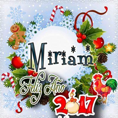 Lindas tarjetas para perfil con tu nombre 2017!!! Miriam