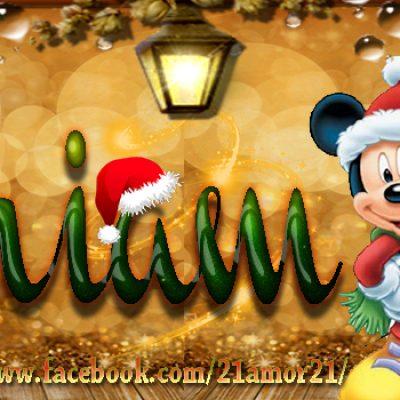 Portadas de Navidad con tu Nombre, de MICKEY,Miriam!!!