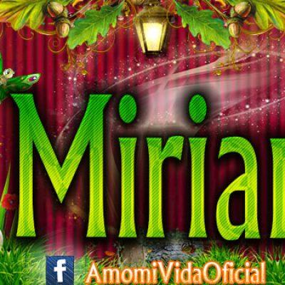 Nuevas Portadas para tu Facebook con tu nombre de Minnie y Mickey,Miriam